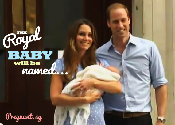 Royal Baby name of the Prince of Cambridge